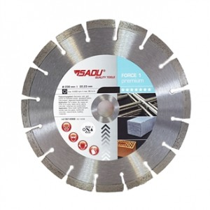 DIAMOND DISC PREMIUM 230MMX10MM FORCE 1