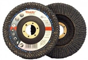 FLAP DISC CURVED EDGE ZC G040
